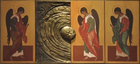 Tabernakulum w Kaplicy Ojców Dominikanów w Łodzi