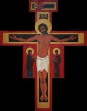 Krzyż w Parafii św. Jana Chrzciciela w Łodzi